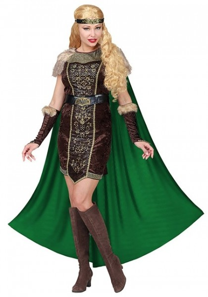 Noble Viking warrior Edda costume