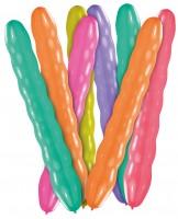 8er Set Kugelballons Bunt 80cm