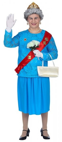 Queen Elizabeth Costume for Men