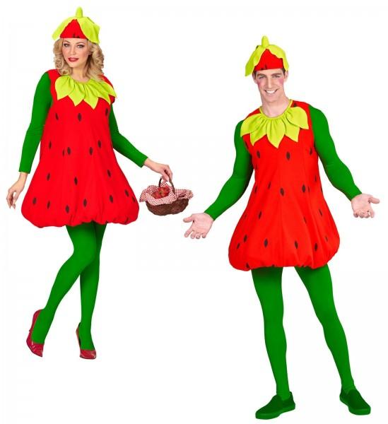 Erbi Erdbeere unisex Kostüm