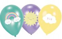6 Süße Wolkenwelt Luftballons 27,5cm