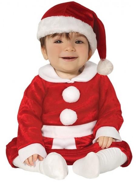 Weihnachtsfrau Baby Kostüm