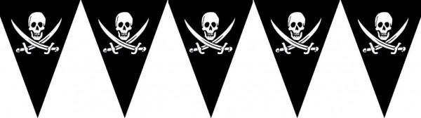Łańcuszek na proporczyk czaszka pirata 500cm