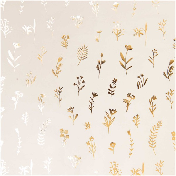 FSC wrapping paper flower meadow