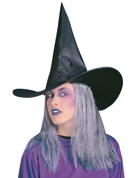 Ava Hexenhut Mit Grauen Haaren