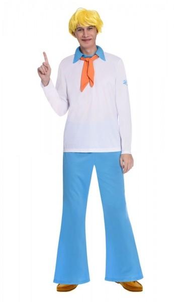 Scooby Doo Fred Herrenkostüm
