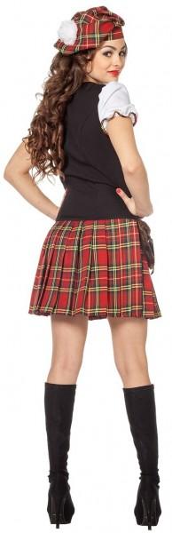 Tartan Abigail mini-jurk