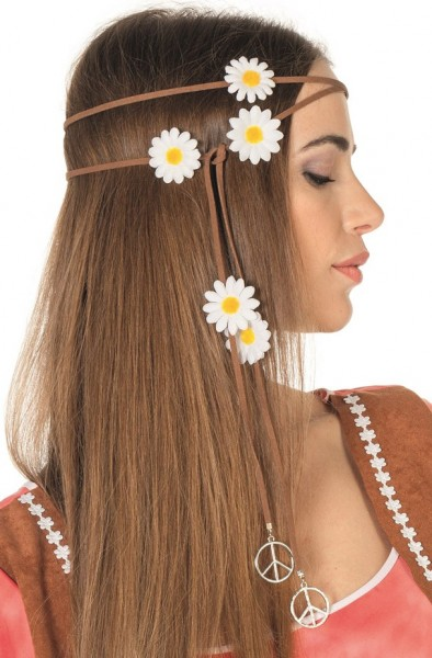 Fascia per capelli Daisy Hippie