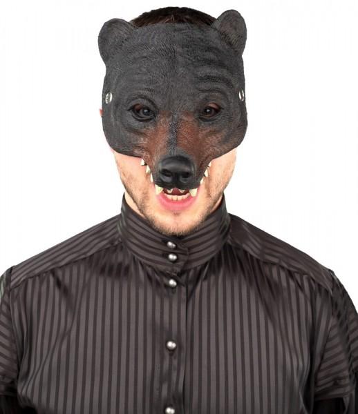 Barney der Bär Halbmaske