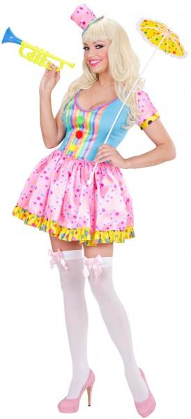 Clown Lady Augustina Damenkostüm