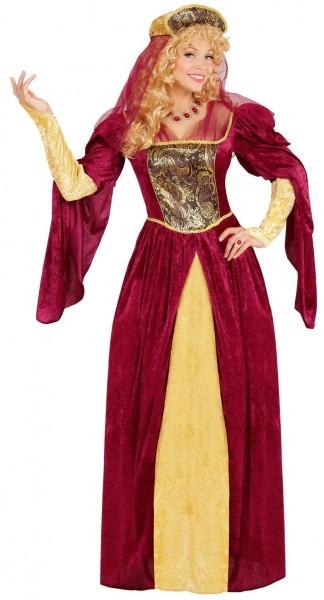 Royale Königin Anne Damenkostüm