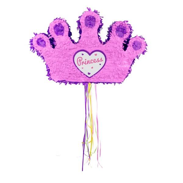 Pinata Princess Crown rosa