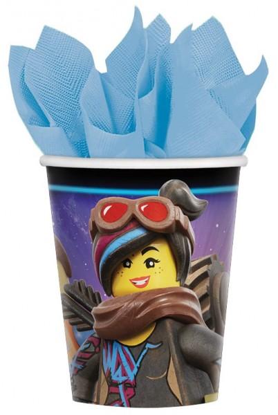 8 Lego Movie 2 Becher 266ml