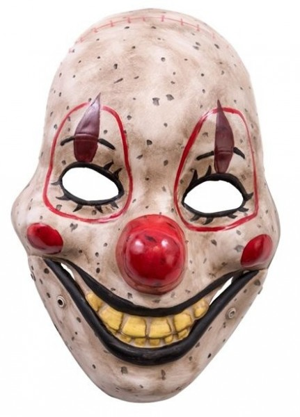 Moving Mouth Horrorclown Maske