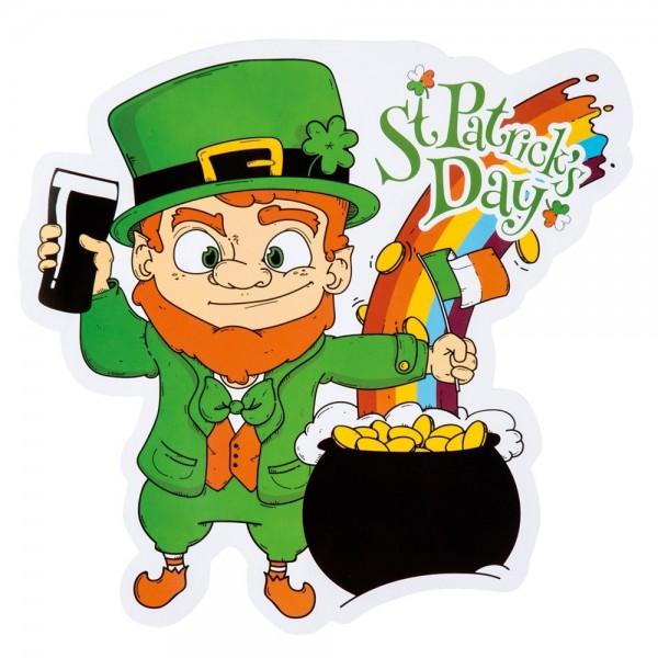 Happy St.Patricks Day Wandbild