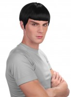 Perruque Spock Star Trek noire
