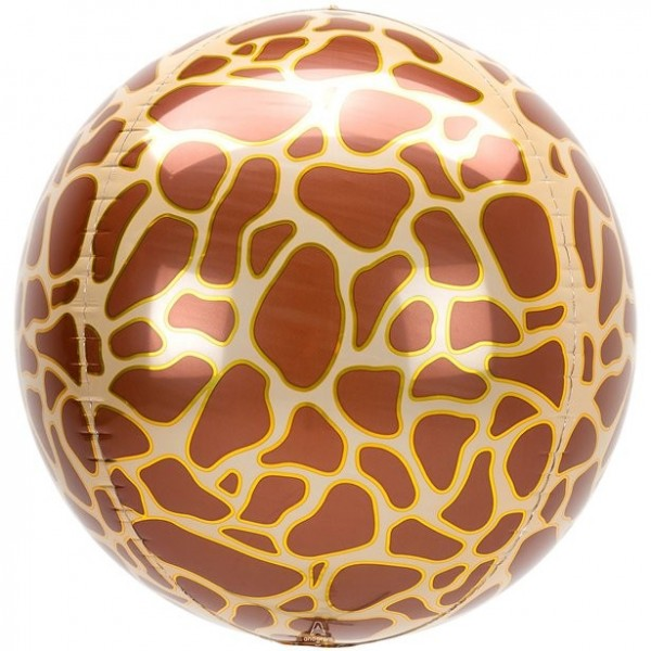 Wild Animal Giraffes Foil Balloon 41cm