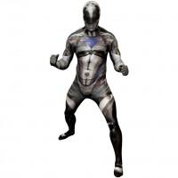Schwarzer Power Ranger Morphsuit Deluxe