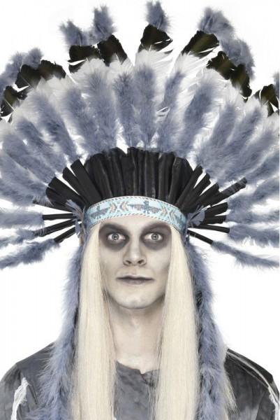 Geister Indianer Federschmuck