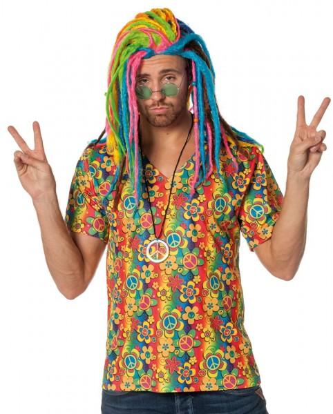 Good Vibes Hippie herenhemd