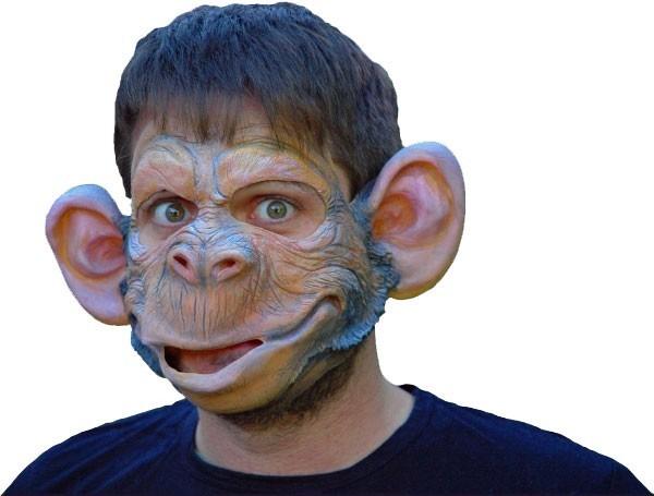 Chimpansee latex masker