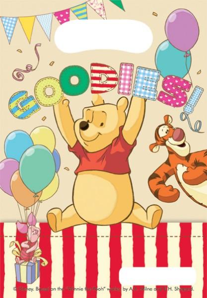 Winnie Puuh Yummy Geschenktüten 6er Pack