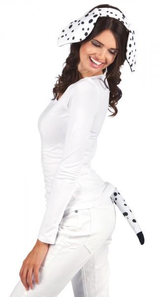 2-Teiliges Dalmatiner Kostüm-Set
