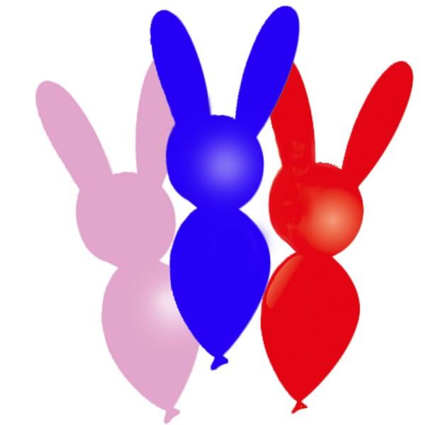 8 globos de látex animales de colores 30cm