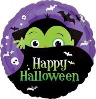 Happy Halloween Folienballon Dracula
