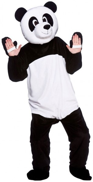 Pluche Panda Mascot Costume