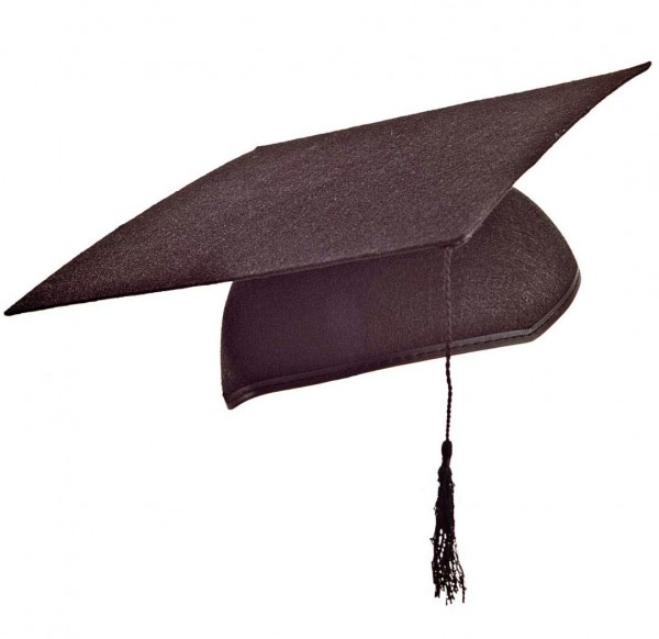 College Absolvent Akademiker Hut