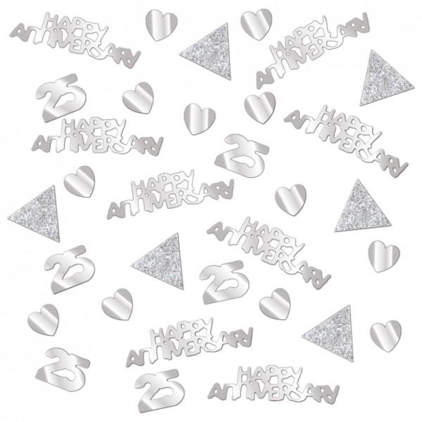 Sparkling 25 Years Confetti