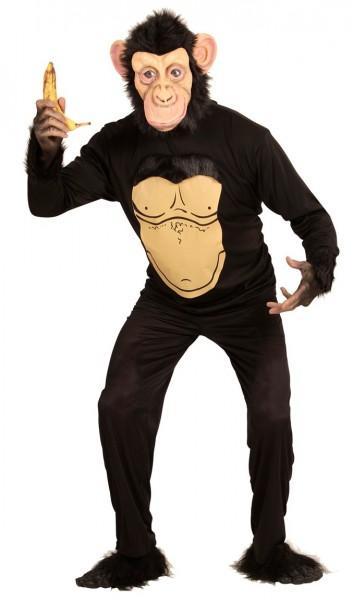 Scimmia maglione con maschera