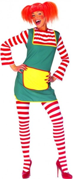 Poppiges Freches Mädchen Kostüm