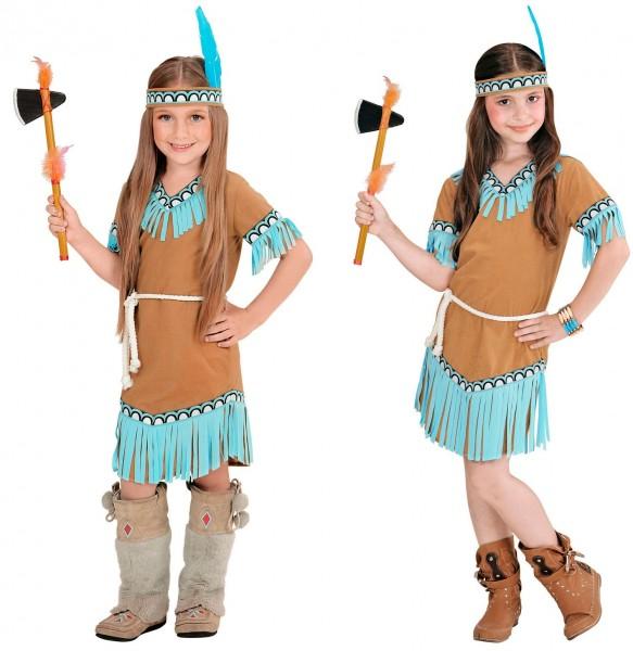 Indianer Mädchen Hera Kinderkostüm