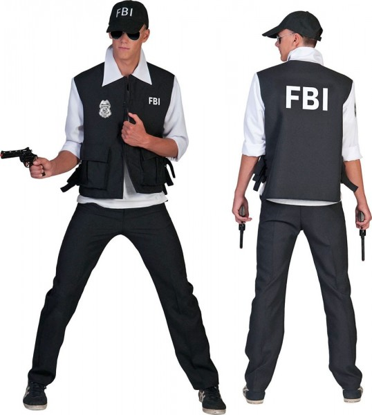 Special Agent Herrenkostüm