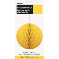 Fröhlicher Gelber Wabenball 20cm