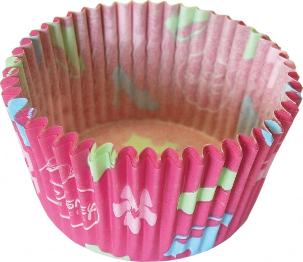 24 Pink Disney Princess Muffinformen 7,5cm