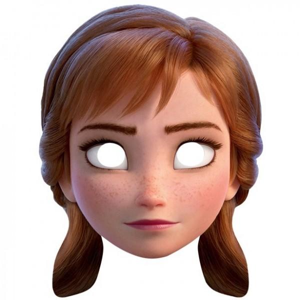 Masque en carton Disney Frozen 2 Anna