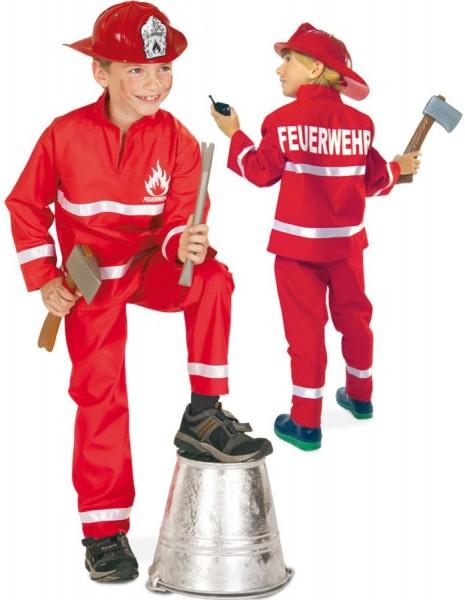 Little Firefighter Eike kostuum voor kinderen