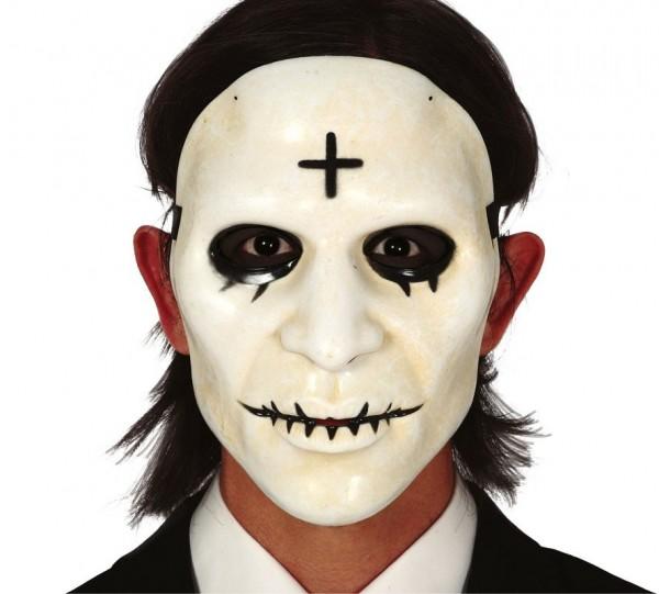 Den krydsede Halloween-maske