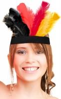 Deutschland Feder Stirnband