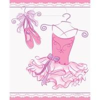 8 Prima Ballerina Leonie Geschenktüten 23 x 18cm