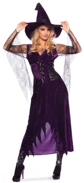 Spider Witch Oda Costume Purple