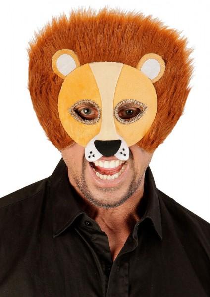 Flauschige Löwen Maske Unisex