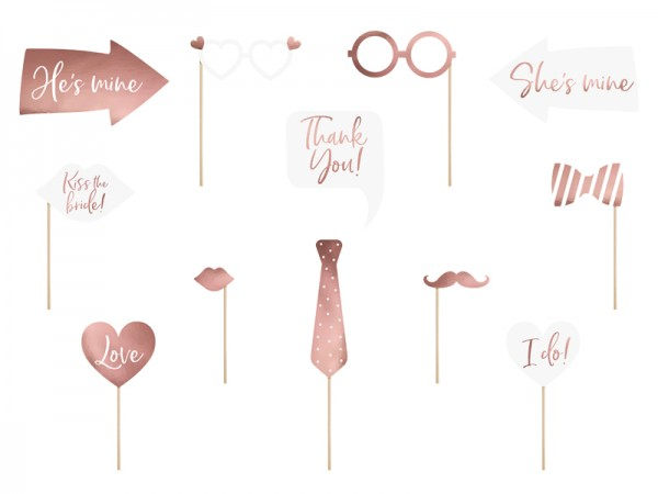 10 forever bonded photo props