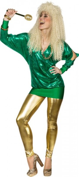 Punk Disco Fever Shirt Green