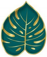 8 Dschungel Fieber Palmen Teller 18cm