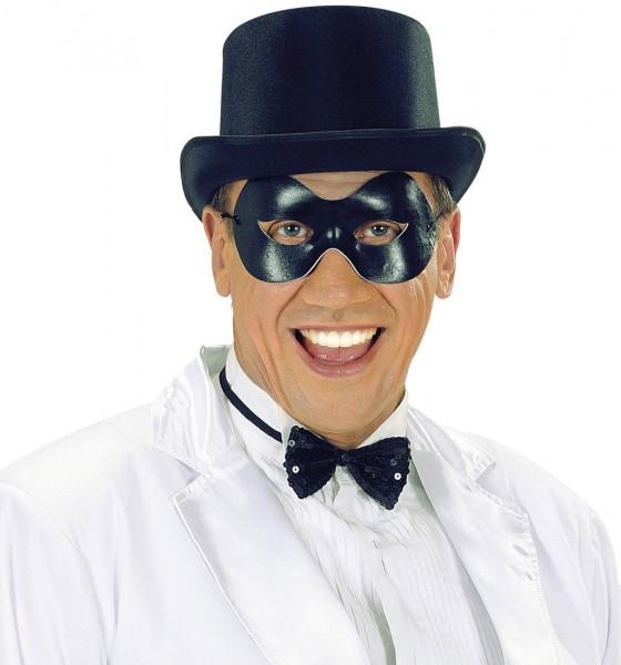 Elegante Schwarze Augenmaske