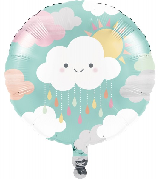 Kleine Wolke Folienballon 46cm